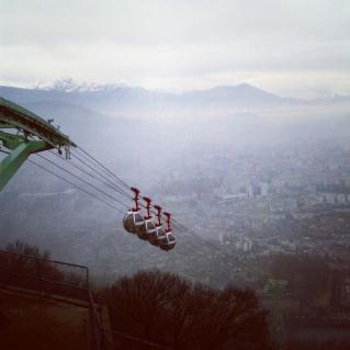 Grenoble - La Bastille - Téléferique